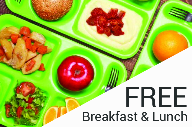 Free Breakfast & Lunch offered to ALL NSD students K-12!