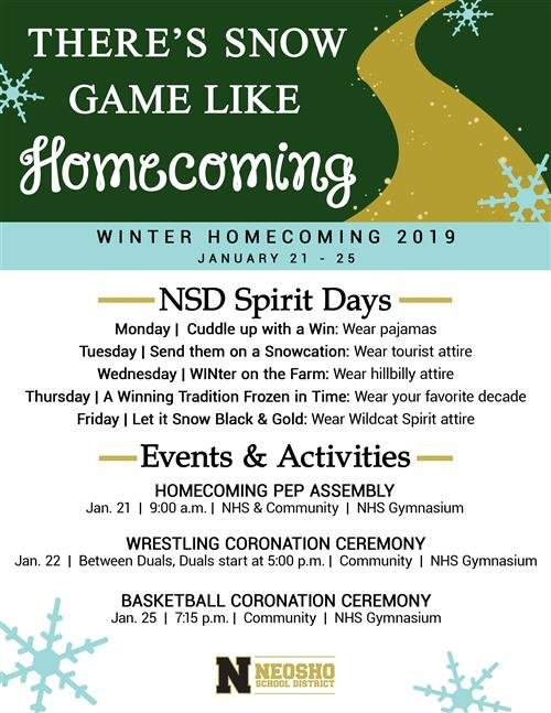 Winter Homecoming 2019