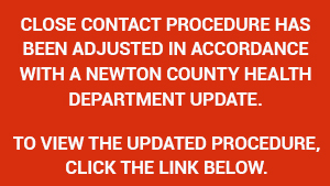 Newton County Close Contact Procedure Update